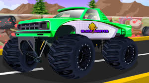 monster truck games videos монстр трак автомойка мультики про машинки monster truck