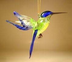 four murano glass birds porcelana beautiful