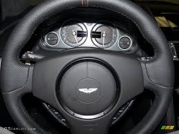 aston martin steering wheel 2009 aston martin dbs coupe obsidian black steering wheel photo