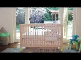 babyletto gelato 4 in 1 convertible crib walk through youtube