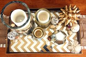 Gold Coffee Table Tray by Coffee Table Decor For Everyday With Gold Mirror Tray