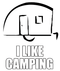 camping themed coloring pages kids campercommunity forums
