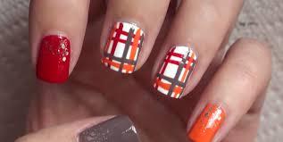 thanksgiving nail polish colors 25 thanksgiving nail art ideas