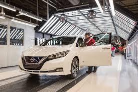 nissan finance jobs sunderland uk plant helps nissan pass 150 million vehicles milestone