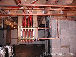 pex floor radiant heat installing pex underfloor radiant heating