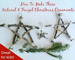 a prepper christmas twig ornaments mom prepares