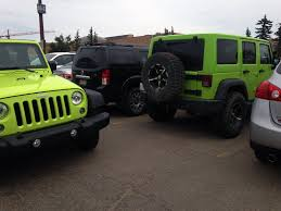 commando green jeep lifted hypergreen vs gecko side by side pics jeep wrangler forum