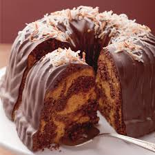 september chocolate coconut and pumpkin marble bundt jpg