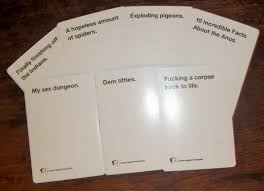 cards against humanity reject pack play cards against humanity storyteller