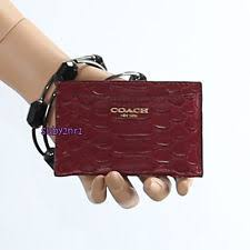 Business Card Case For Women Coach Animal Business U0026 Credit Card Cases For Women Ebay