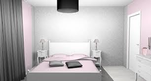 chambre gris clair poudre chambre gris ado couleur decorer tendance clair fille ma