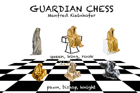 Contemporary Chess Set Guardian Chess Game By Manfred Kielnhofer Chess Plate Chess Set