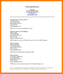 Sample Character Reference In Resume Resume Reference Example Template Character Reference In Resume