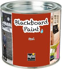 Designerpaint by Magpaint Blackboard Paint Red 500ml By Designer Paint