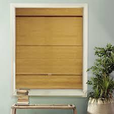 white bamboo shades u0026 natural shades shades the home depot