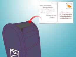 How To Fold Envelope How To Mail A Postcard 6 Steps With Pictures Wikihow