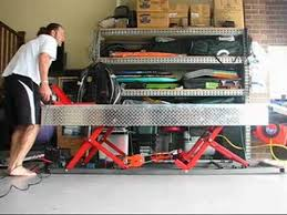 Motorcycle Lift Table by Bike Lift Table Youtube
