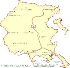 udine italy map friuli venezia giulia map and guide northeastern italy