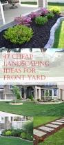 easy landscaping ideas for front of house front yard landscaping