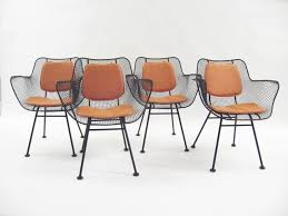 Woodard Patio Furniture - furniture unique chair in black made of iron by woodard furniture