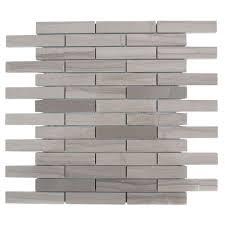 splashback tile athens grey 12 in x 12 in x 8 mm polished marble
