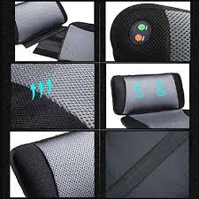 Back And Seat Cushion Viktor Jurgen Adjustable Vibration Massage Lumbar Pillow Back