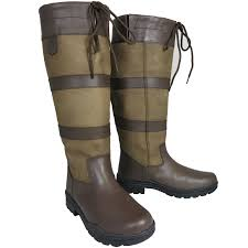 womens size 12 waterproof boots mens stable yard walking leather country