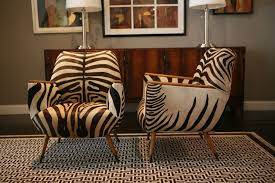 Leopard Armchair Brown Zebra Chairs Impressive Cozy Living Room With Brown Sofa