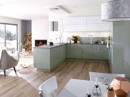 cuisine blanche ouverte sur salon cuisine en l ouverte sur salon luxe cuisine blanche ouverte sur