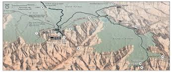 Map Grand Canyon Grand Canyon 2015