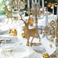 Table Decorations For Christmas Reindeer Table Decoration