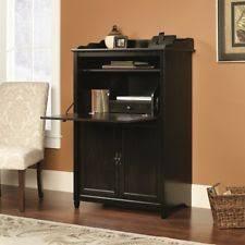 Computer Armoire Espresso Armoire Desk Ebay