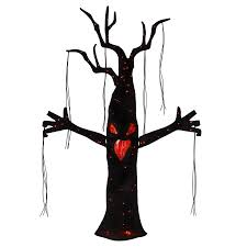 shop living animatronic pre lit tree sculpture with multi