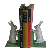 rabbit bookends bunny bookends the shelley panton store