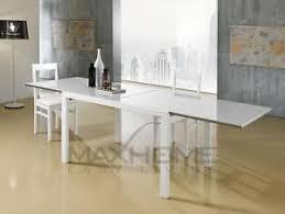 tavoli da design tavolo da pranzo up 120 allungabile laccato effetto legno