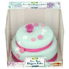 wedding cake asda wedding cake asda two tier blossom cake asda groceries intended