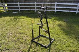 portable folding bow stand aughog products ahp outdoors the