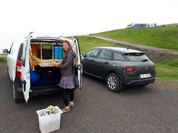 mini camper van hiring a campervan in iceland u2013 go campers review becky the