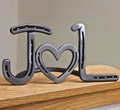 horseshoe wedding gift personalized est horseshoe heart gift for wedding iron