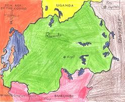 Rwanda Map Ljhsjmellish Frontpage