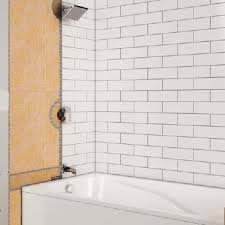 shower with bathtub schluter
