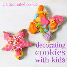 Decorating Icing For Cookies Cookie Decorating Activity For Children Cookie Decorating