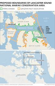 Lancaster Map Leases Or Not Shell Still Leaves Its Mark On Lancaster Sound