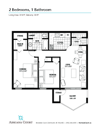 Dartmouth Floor Plans Adriana Court Horizon Court