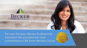learn about becker cpa exam review youtube