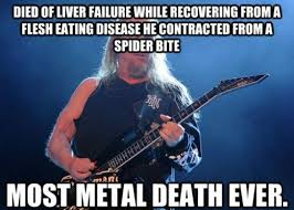 Heavy Metal Meme - the all mighty jeff hanneman heavy metal know your meme