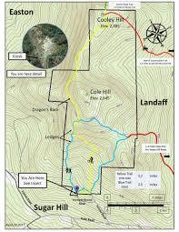 Easton Map Explore Our Lands U2014 Ammonoosuc Conservation Trust