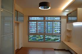 Zen Ceiling Light Modern Design For Hdb 3 Room Type Apartment With Modern Zen Bed
