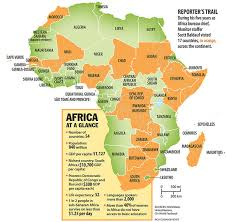 africa map 54 countries ona expansiva five myths about africa