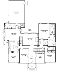 One Story Floor Plans House Plan 2341 A Montgomery First Floor Traditional 1 Beautiful